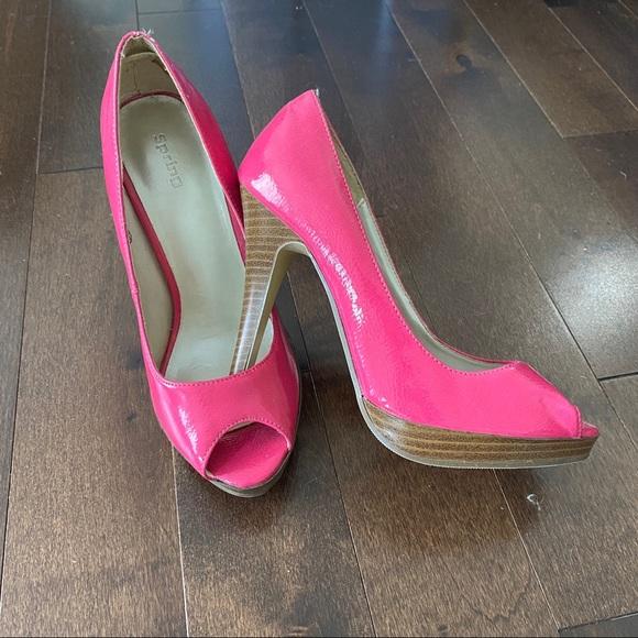 *BNWT* Call it spring pink heels